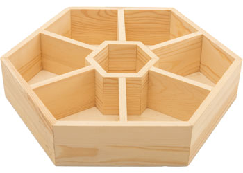 Hexagonal Sorting Tray