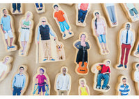 Everyone's Family 26 Wooden Pieces
