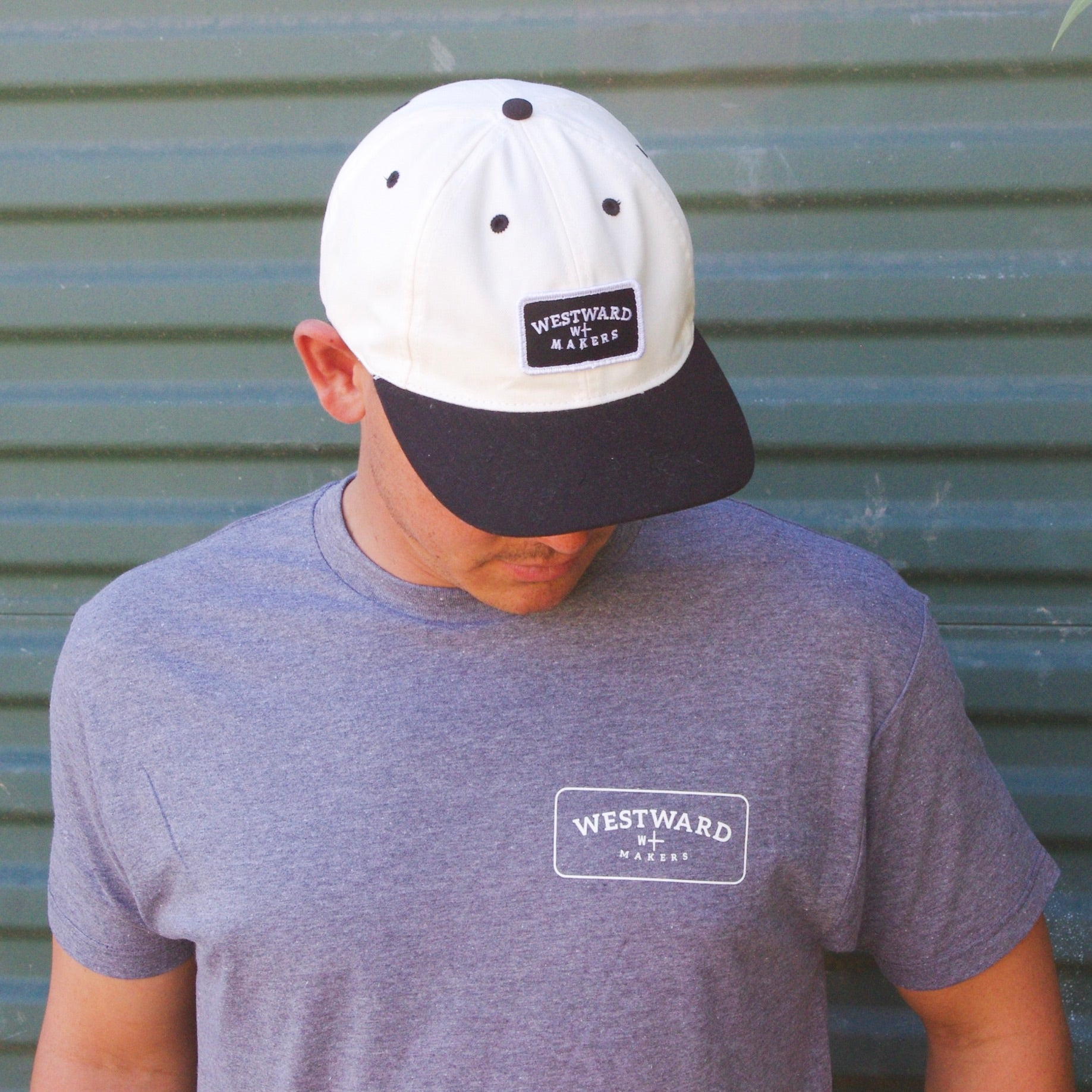 The Westward Makers Baller Snapback Hat Black & White