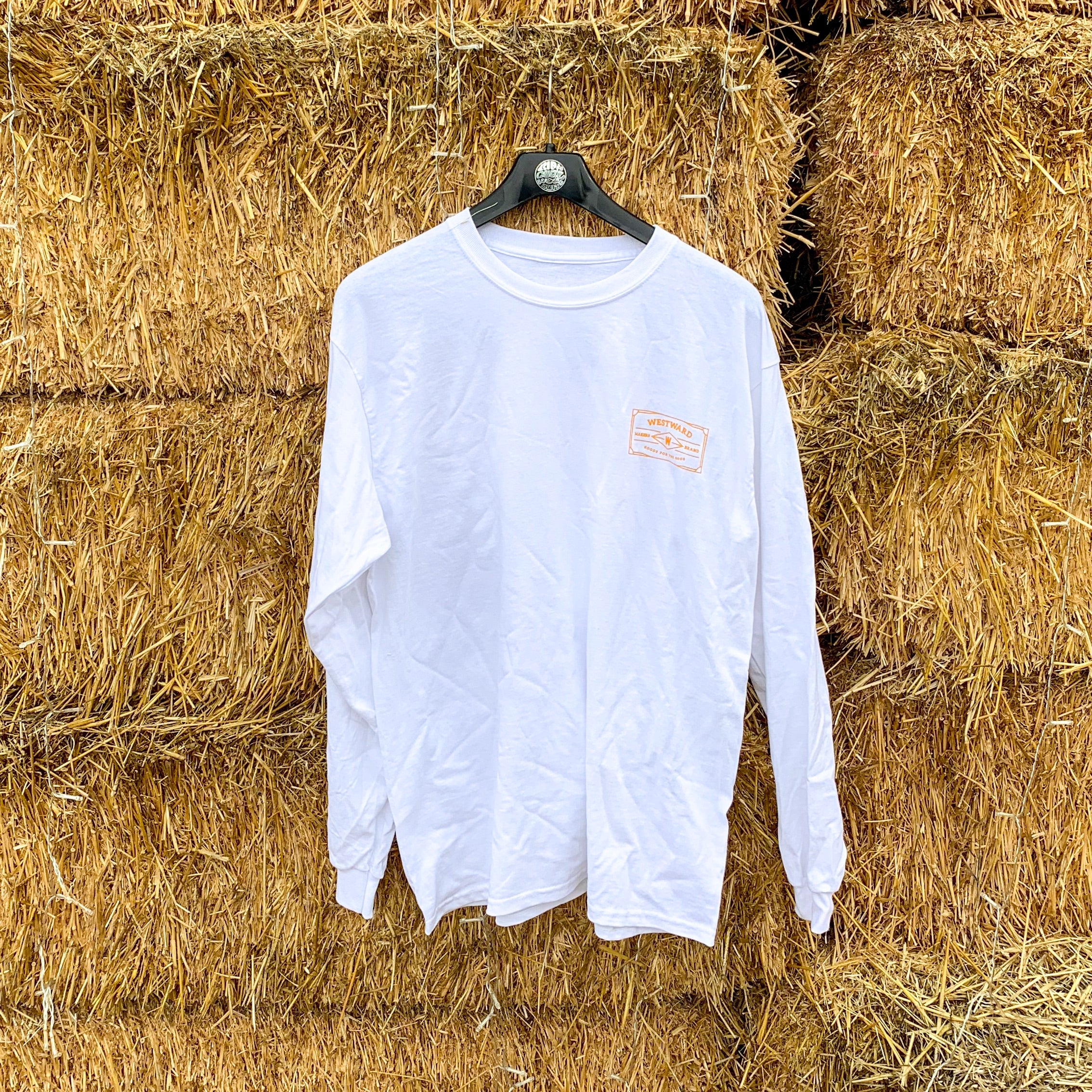 For The Good Long Sleeve T-Shirt White