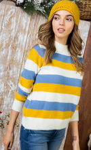Load image into Gallery viewer, Scandanavian Mock Neck Sweater - Wanderer Traveling Boutique