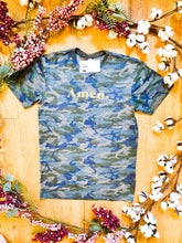"Load image into Gallery viewer, ""Amen."" Camo - Graphic T-Shirt - Wanderer Traveling Boutique"