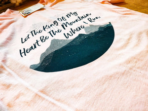 """King Of My Heart"" - Graphic T-Shirt - Wanderer Traveling Boutique"