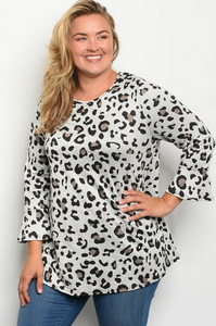 Lovely Leopard Tunic - Wanderer Traveling Boutique
