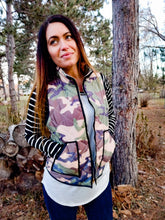 Load image into Gallery viewer, Refined Camouflage Vest - Wanderer Traveling Boutique