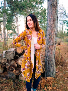 Whimsical Floral Cardigan - Wanderer Traveling Boutique