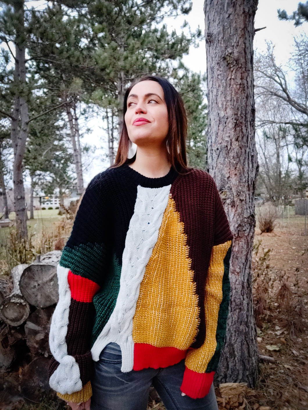 Cross Colors Inspired Sweater - Wanderer Traveling Boutique