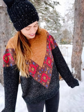 Load image into Gallery viewer, Navajo Print Sweater - Wanderer Traveling Boutique