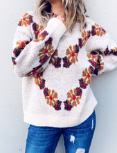 Load image into Gallery viewer, Eye-catching Ivory Sweater - Wanderer Traveling Boutique