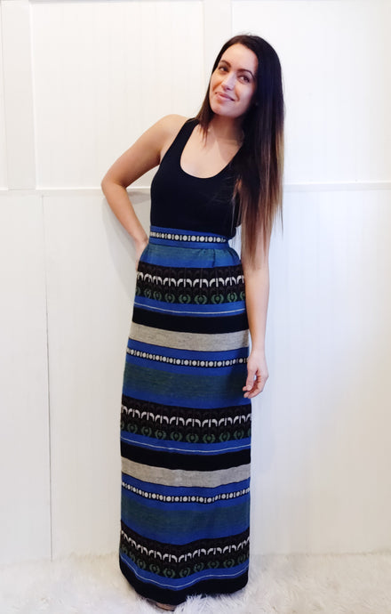 Tribal Tapestry Long Length Skirt - Wanderer Traveling Boutique