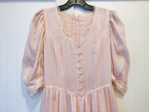 Precious Pink Prairie Dress - Wanderer Traveling Boutique