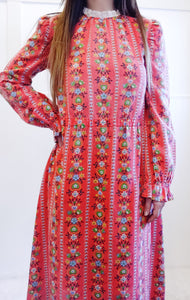 Bright Day Dress in Tomato Red - Wanderer Traveling Boutique