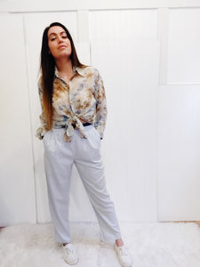 Authentic Vintage Gray 90's Business Pants - Wanderer Traveling Boutique