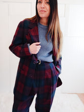 Load image into Gallery viewer, 'Penny' Plaid Suit - Wanderer Traveling Boutique
