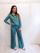 Load image into Gallery viewer, 'Sienna' Seafoam Green 70's Western Set - Wanderer Traveling Boutique