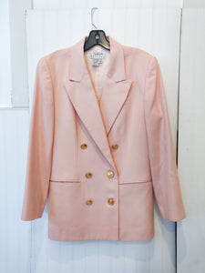 'Perrie' Pink Blazer - Wanderer Traveling Boutique
