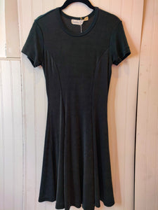 'Hurli' Hunter Green 90's Dress - Wanderer Traveling Boutique