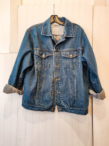 'Dara' Denim Jacket - Wanderer Traveling Boutique