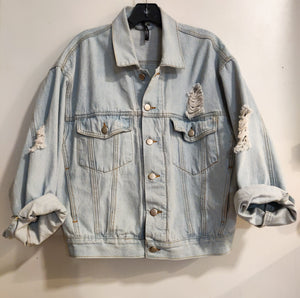 Oversized Jean Jacket - Wanderer Traveling Boutique