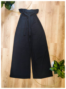 Black High Waist Pant - Wanderer Traveling Boutique