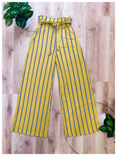 Load image into Gallery viewer, Mustard Striped Pant - Wanderer Traveling Boutique