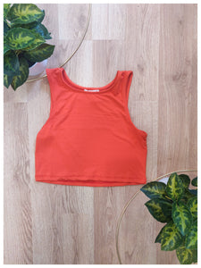 Tomato Tank Crop Top - Wanderer Traveling Boutique