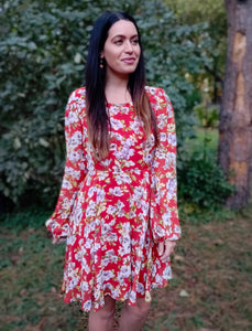 Groovy Floral Dress - Wanderer Traveling Boutique