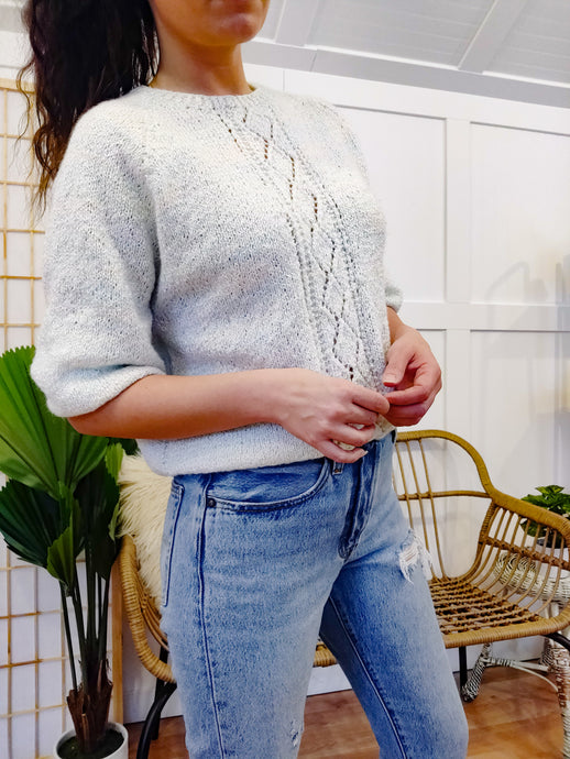 Pastel Perfection 80's Sweater - Wanderer Traveling Boutique