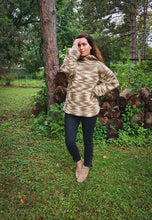 Load image into Gallery viewer, Hand Knit Hoodie Sweater - Vintage - Wanderer Traveling Boutique