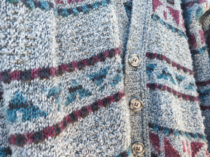 Aztec Grandpa Sweater - Wanderer Traveling Boutique