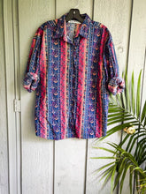 Load image into Gallery viewer, Western Button Up - Vintage - Wanderer Traveling Boutique