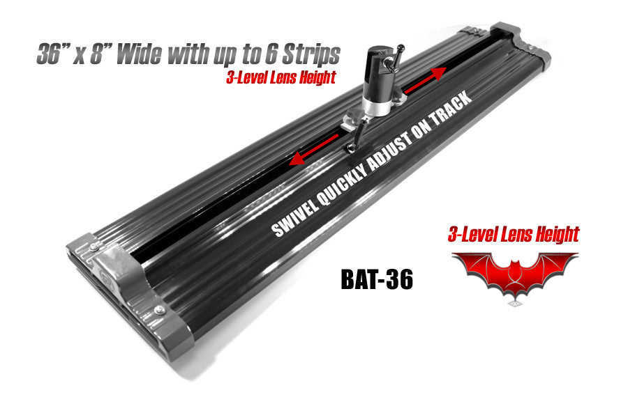 "Batwing 36"" Length x 8"" Wide HD LED"