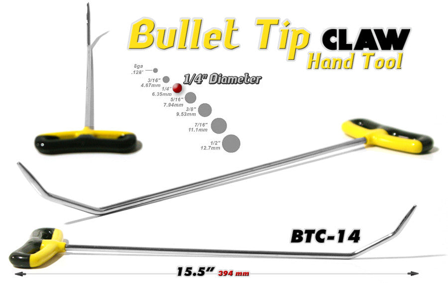 Bullet Tip Claw 14""