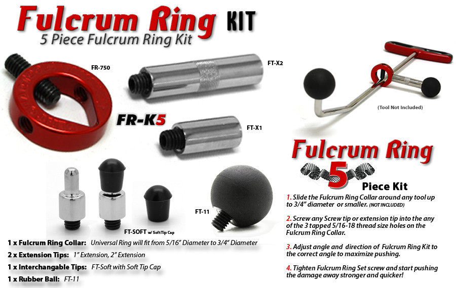 Fulcrum Ring Collar Kit 5 Pieces