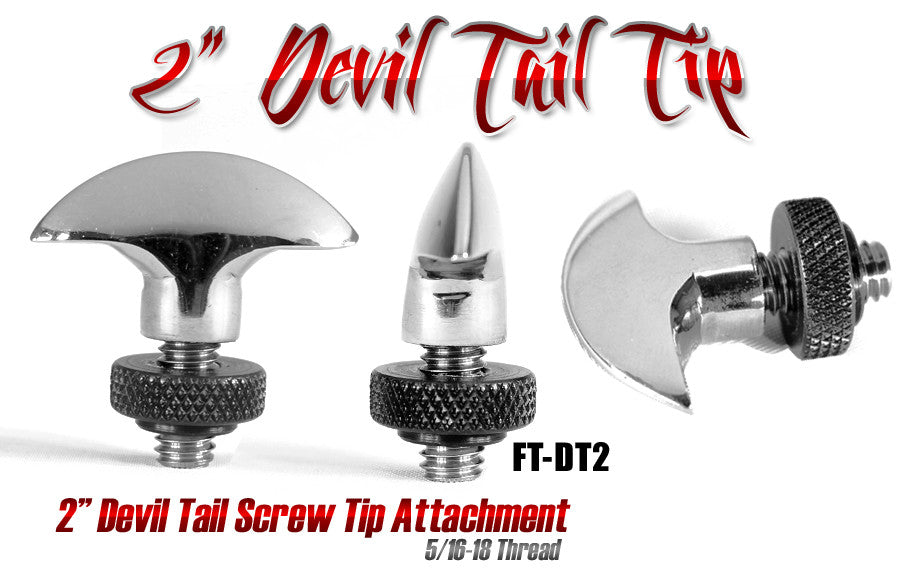 Screw Tip Devil Tail 2""