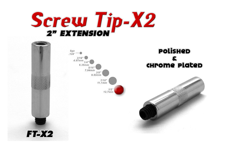 Screw Tip Extension 2""