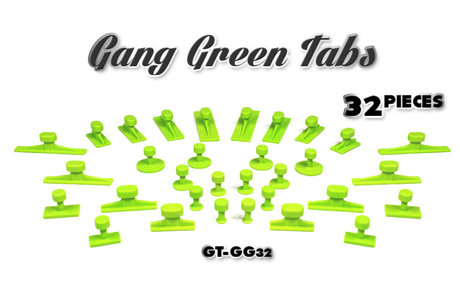 Black Plague Gang Green Tab Sets
