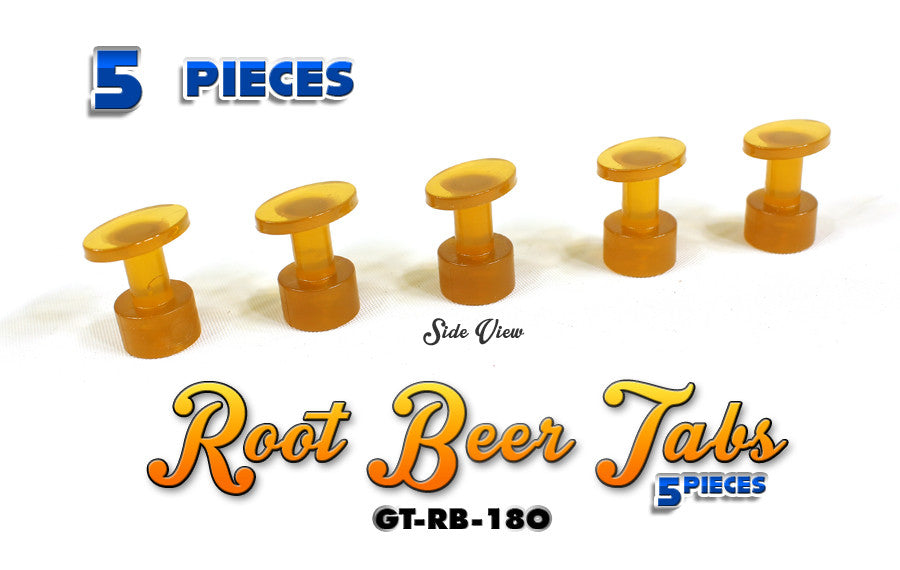 Anson Root Beer 18MM Oval Tabs
