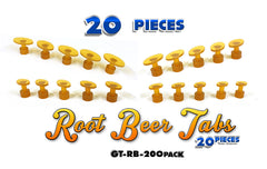 Anson 20 Piece Root Beer Oval Tab Set