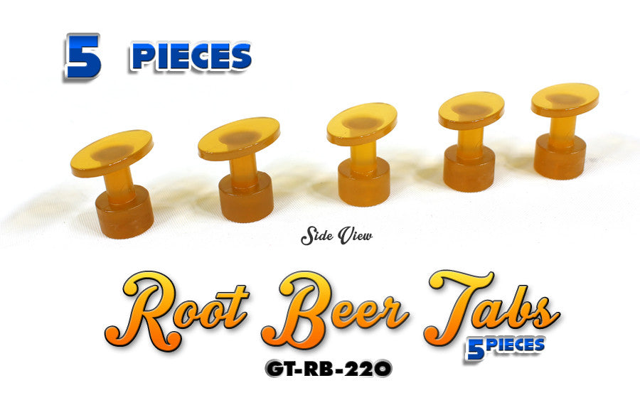 Anson Root Beer 22MM Oval Tabs