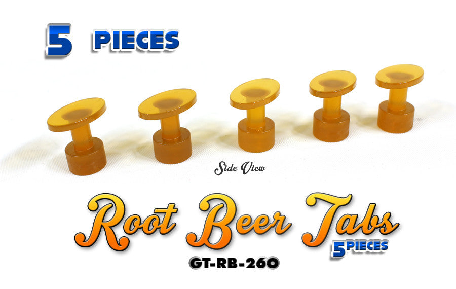 Anson Root Beer 26MM Oval Tabs