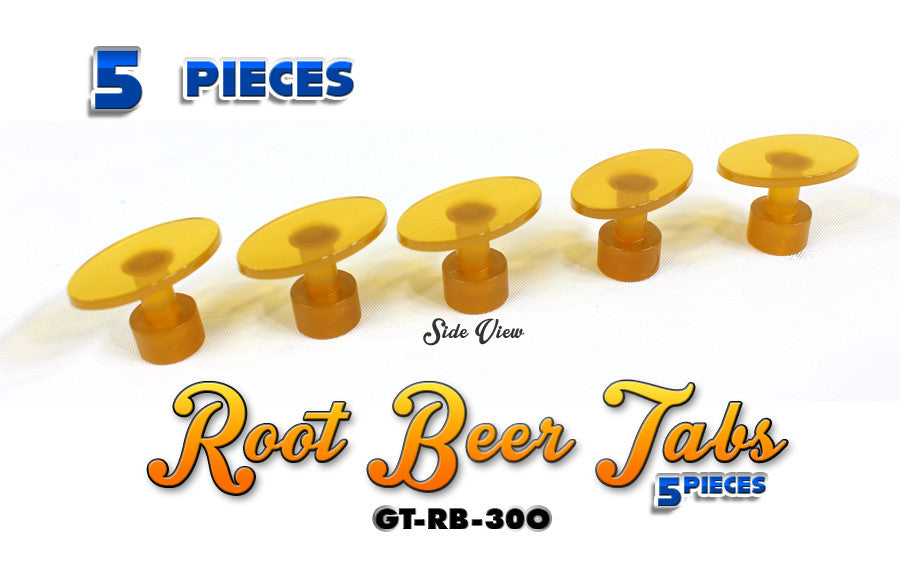 Anson Root Beer 30MM Oval Tabs