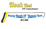 "DISCONTINUED!!! GET IT BEFORE IT'S GONE!!! 1/4"" Small Hook Reverse Handle"