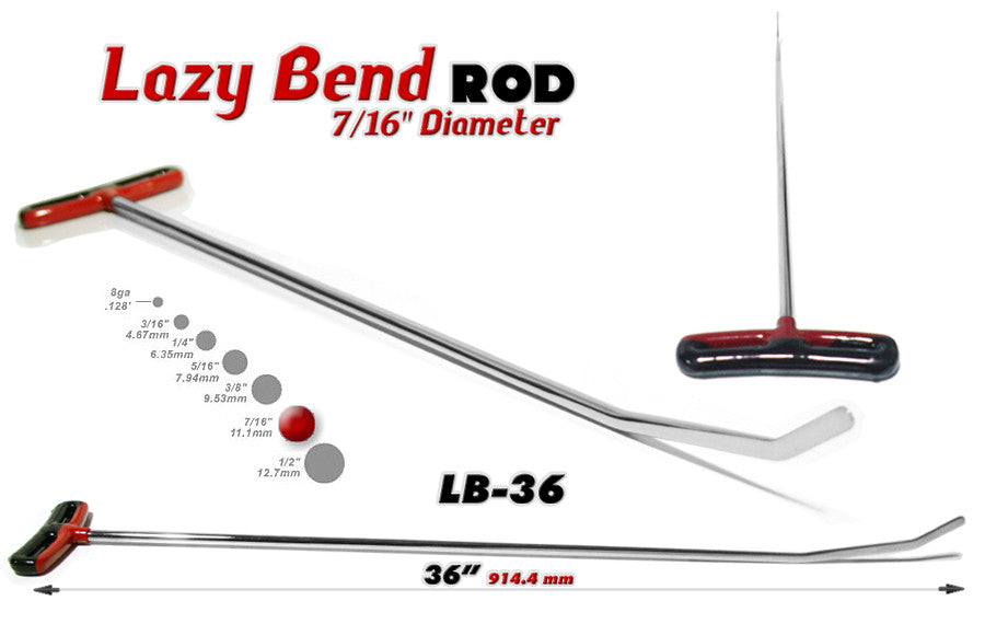 DISCONTINUED!!! GET IT WHILE YOU CAN!!! Blade Lazy Bend 36""