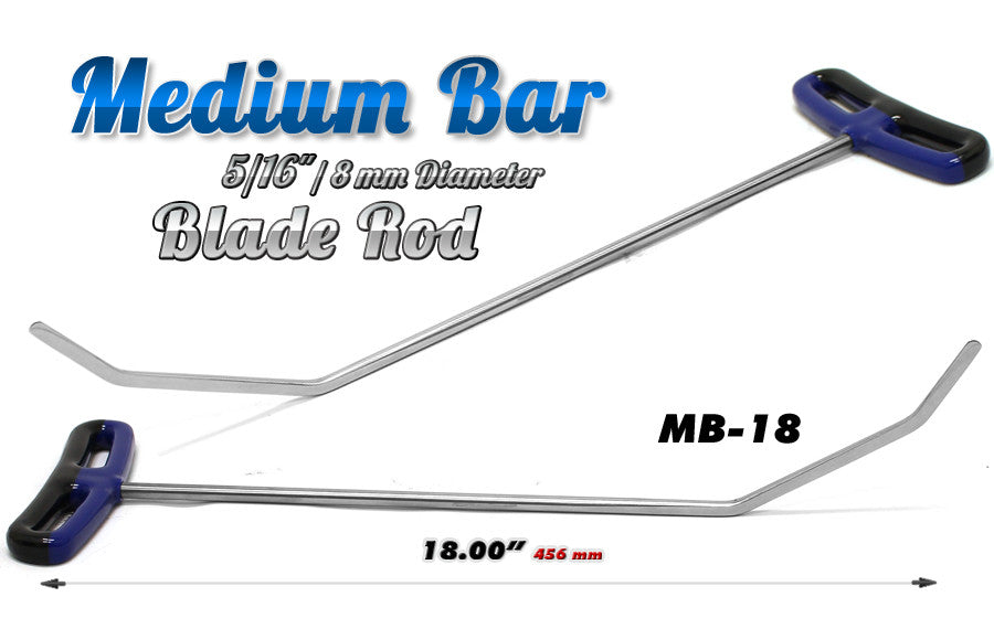 DISCONTINUED!!! GET IT WHILE YOU CAN!!! Blade Medium Bend 18""