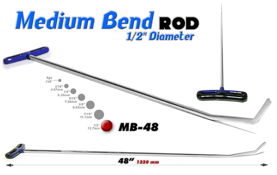 DISCONTINUED!!! GET IT WHILE YOU CAN!!! Blade Medium Bend 48""