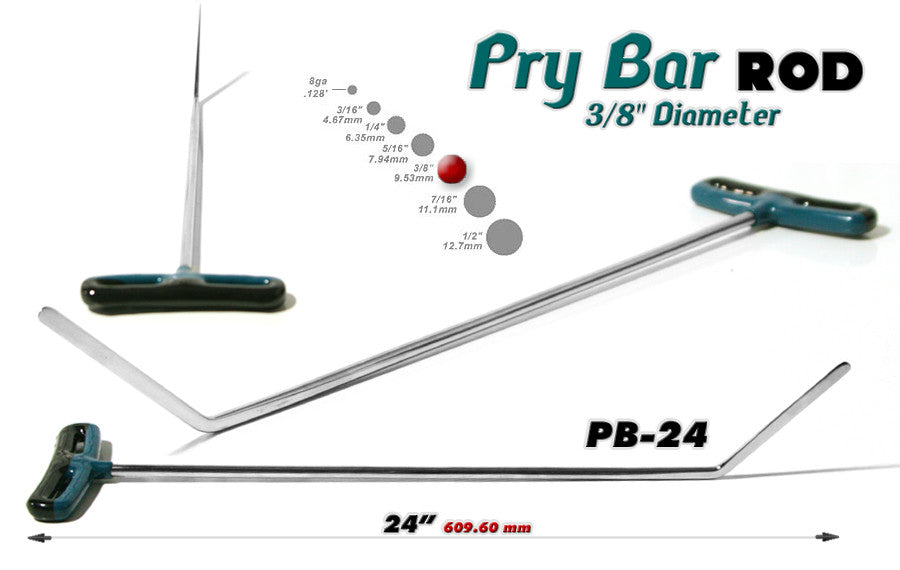 "DISCONTINUED!!! GET THEM WHILE YOU CAN!!! Blade Pry Bar 24"" 3/8"""