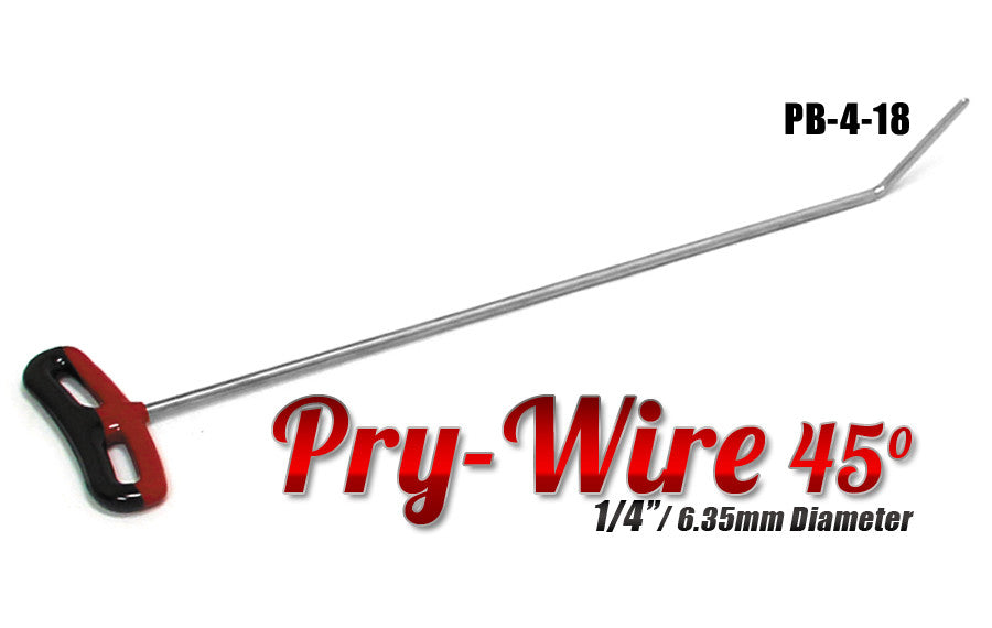 "DISCONTINUED!!! GET THEM WHILE YOU CAN!!! Pry Wire 1/4"" x 18"" Length"