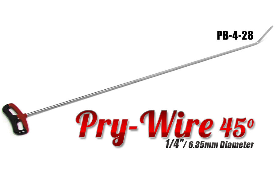 "DISCONTINUED!!! GET THEM WHILE YOU CAN!!! Pry Wire 1/4"" x 24"" Length"