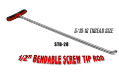 Bendable Screw Tip Rod 28""
